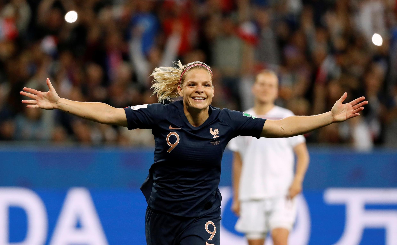 Eugénie Le Somme a inscrit sur penalty le but de la victoire des Bleus contre la Norvège (2-1).