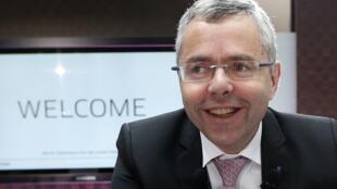 Alcatel Lucent managing director Michel Combes