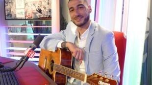 Miguel Facchiano en los estudios de RFI