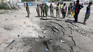 The jihadist group Shabaab said they were behind the two explosions in Mogadishu that left seven people dead.