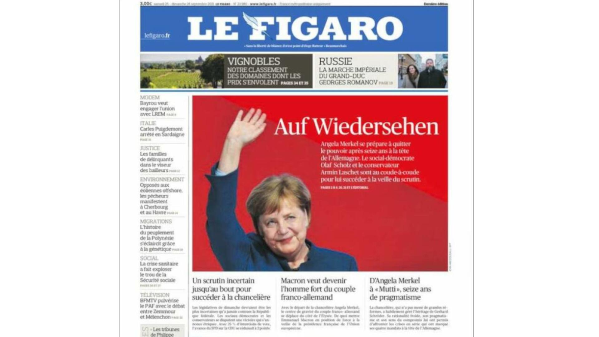 Le figaro Merkel