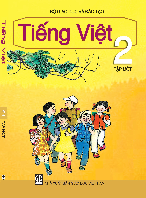 Bìa sách giáo khoa Tiếng Việt lớp 2