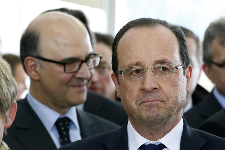 Le président François Hollande déçoit les Français un an après son élection à la tête de l'Etat.