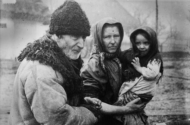 Беженцы-крестьяне
