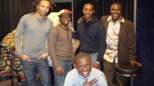 Olivier Baka, Adama Dao, Claudy Siar, Adama Yalomba et Jim K Ressource