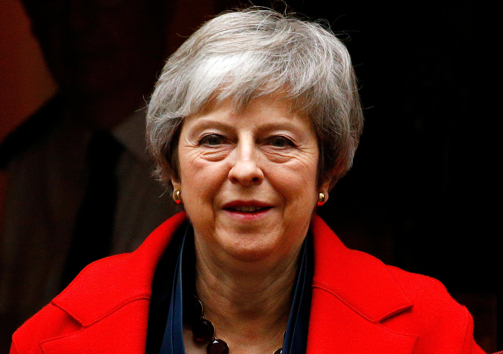 A primeira-ministra britânica Theresa May anunciou o adiamanto do voto sobre o acordo final do Brexit