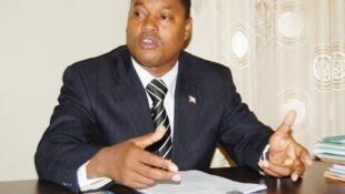 Edouard Nduwimana, le ministre burundais de l'Intérieur.