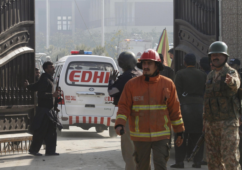 塔利班襲擊巴基斯坦北部帕夏汗大學