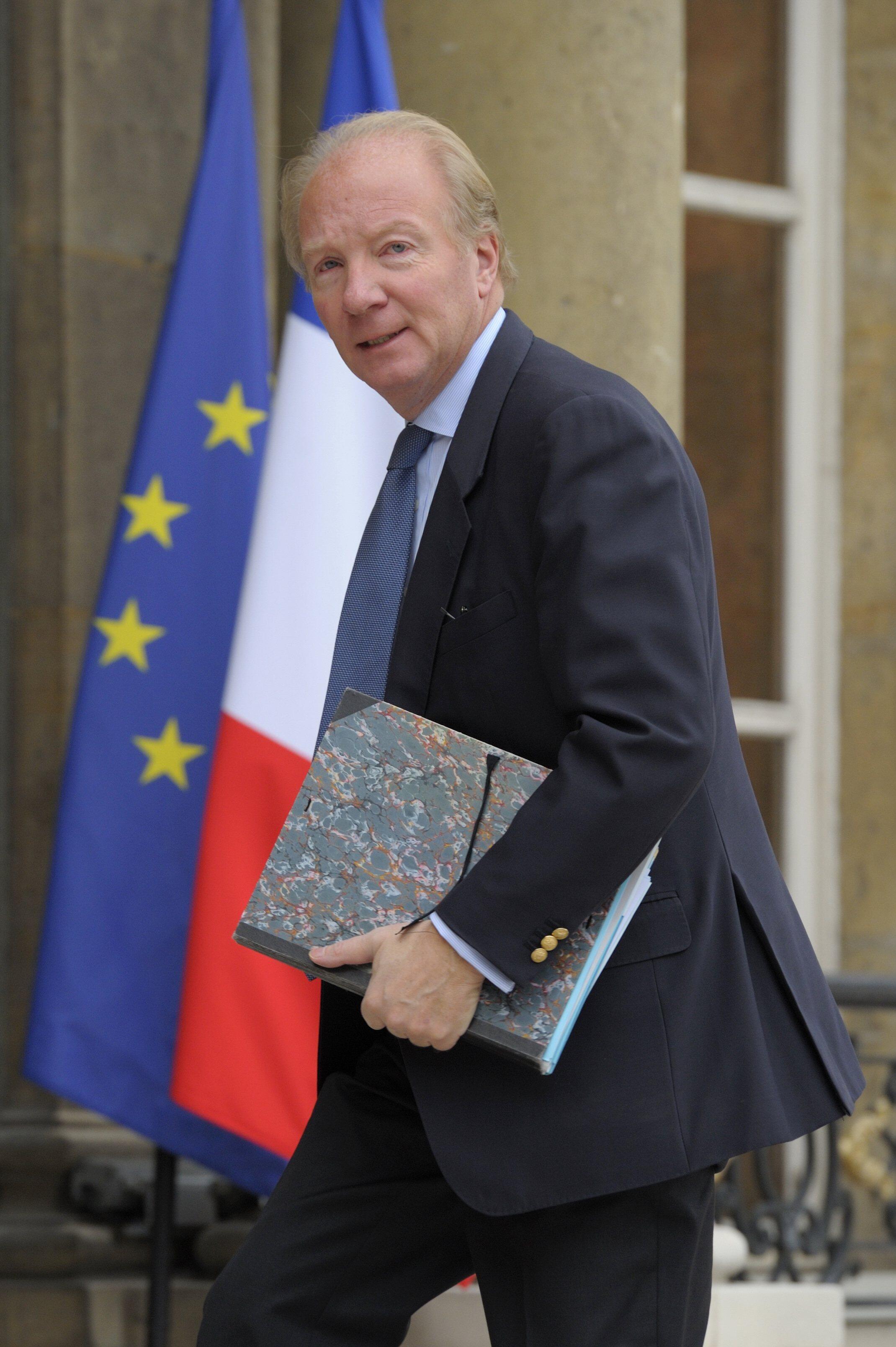O ministro do Interior, Brice Hortefeux