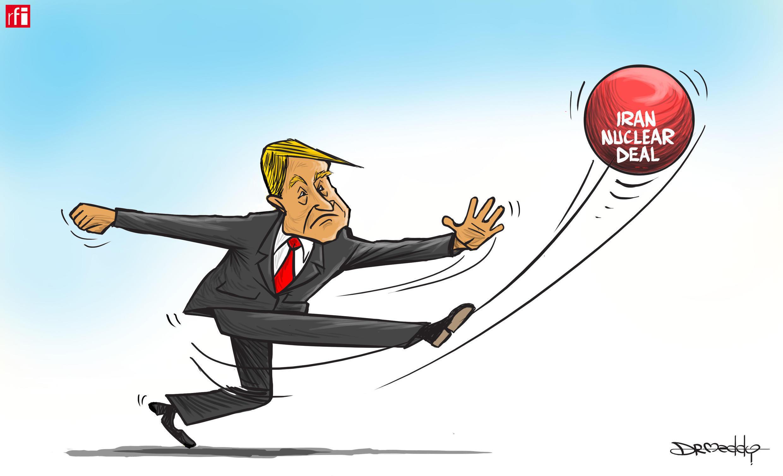 Trump ya yi watsi da yarjejeniyar Nukiliyar Iran (09/05/2018)