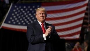 Donald Trump, presidente eleito dos Estados Unidos, durante evento na Pennsylvania, em 15 de dezembro de 2017.