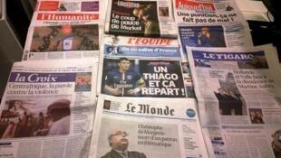 Diários franceses 21/10/2014