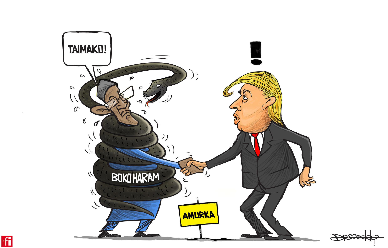 A ganawarsa da Trump, Buhari ya nemi taimako don yakar Boko Haram (01/05/2018)