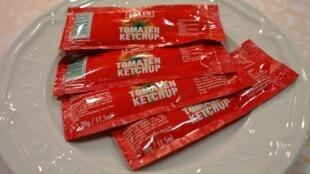 Ảnh minh họa : Ketchup, một mặt hàng Mỹ mà Châu Âu sẽ đánh thuế trừng phạt.