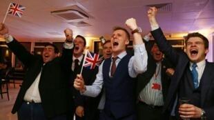 شادی بریتانیایی ها از خروج انگلستان از اتحادیه اروپا