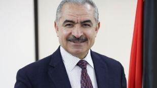 Mohammad Shtayyeh, membre du comité exécutif de l'Organisation de libération de la Palestine et proche conseiller de Mahmoud Abbas, le président de l'Autorité palestinienne.