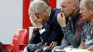 Mai horar da kungiyar Arsenal, Arsene Wenger, lokacin wasan da Liverpool ta lallasa su da kwallaye 4-0.