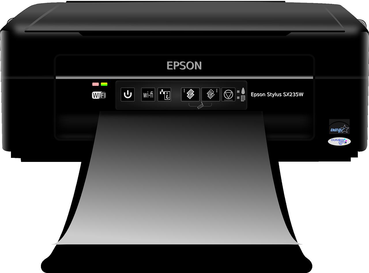 Một kiểu máy in hiệu Epson