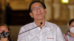 Martin Vizcarra ,Presidente destituído no dia 9 de Novembro de 2020