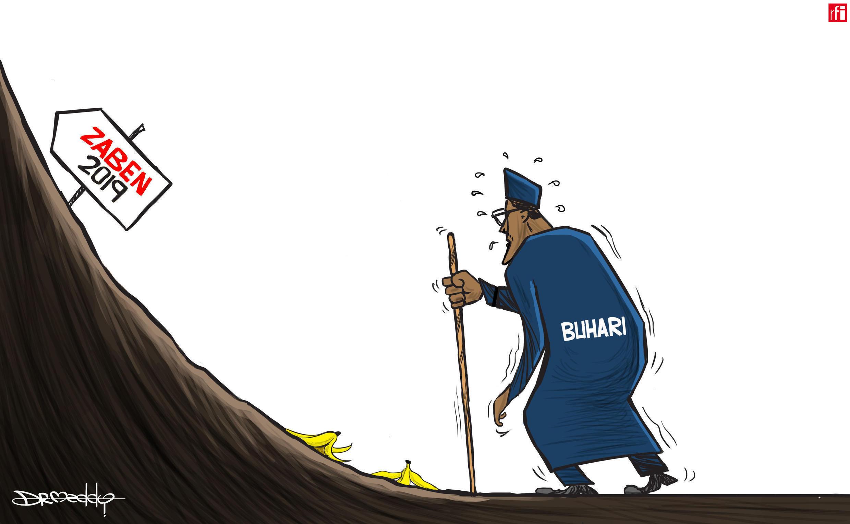 Shugaba Muhammadu Buhari na Najeriya ya sanar da aniyarsa ta neman wa'adi na biyu a zaben 2019 (19/04/2018)