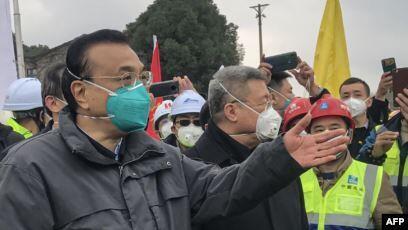 中国总理李克强2020年1月27日在武汉
