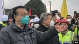 中國總理李克強2020年1月27日在武漢