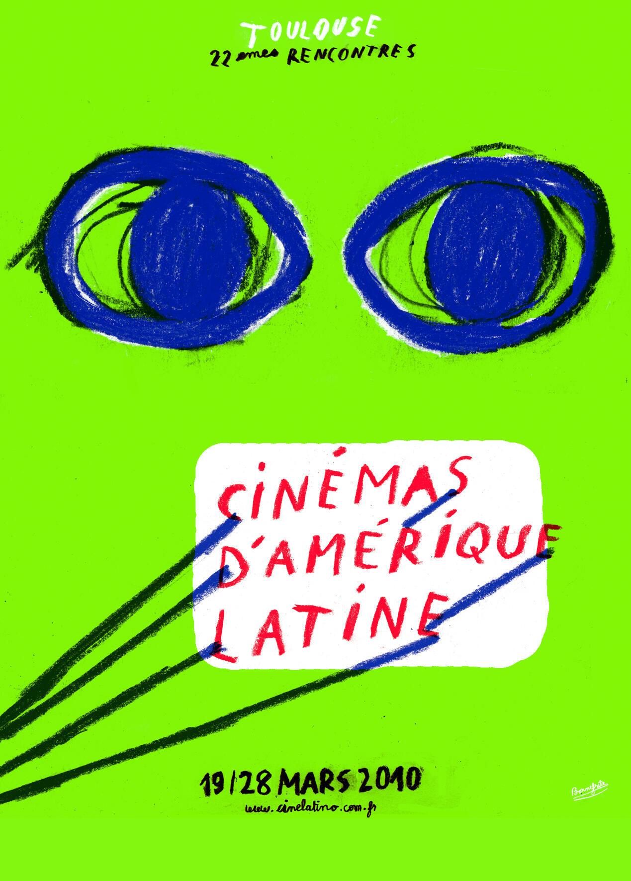 Cartaz do Festival de cinema latino-americano 22 edição, Toulouse
