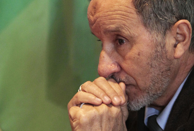 Moustapha Abdeljalil, líder del Consejo Nacional de Transición (CNT), el 12 de marzo de 2011.