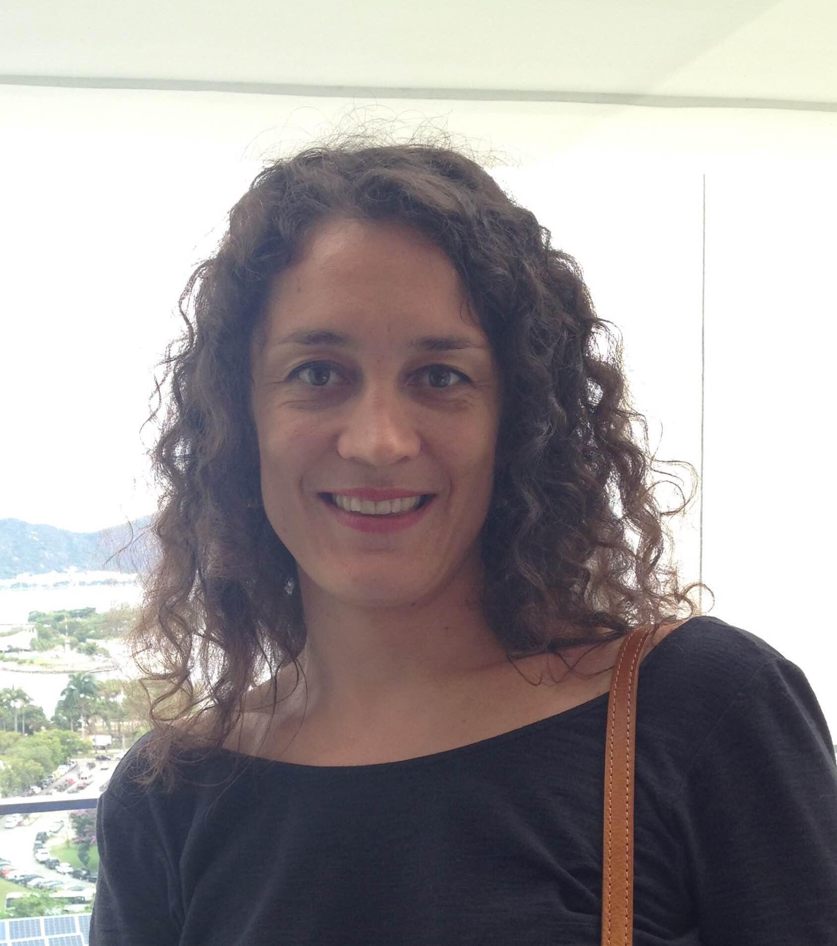 Paule Maillet,  Adida Audiovisual da Embaixada da França no Brasil.