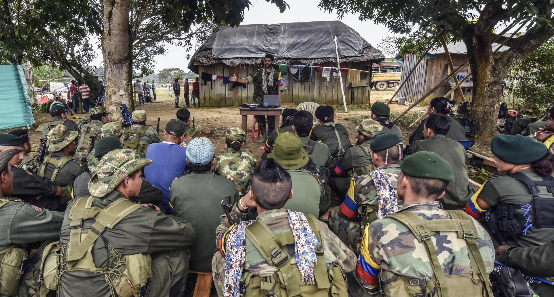 Entre los guerrilleros de las FARC se encuentran muchos menores de edad.