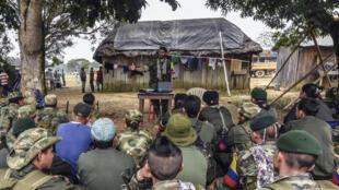 Preparação para a paz pelas guerrilhas das FARC, 18 de fevereiro de 2016.