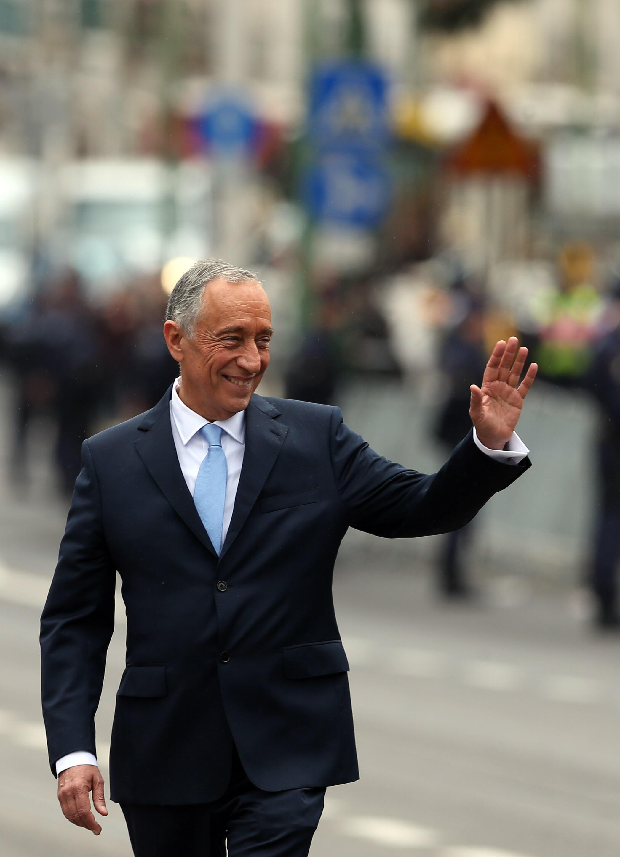 Marcelo Rebelo de Sousa, Presidente de Portugal.