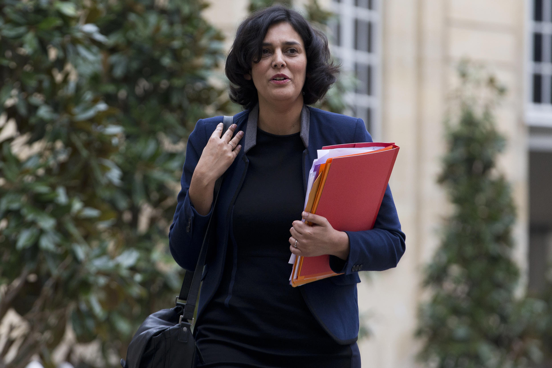A ministra francesa do trabalho, Myriam El Khomri.