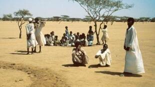 La sécheresse au Soudan.