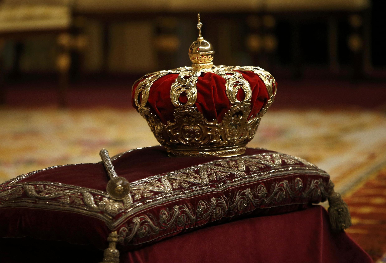 La corona de Felipe VI.