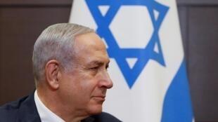 Benjamin Netanyahu, o primeiro-ministro há mais tempo em funções em Israel.