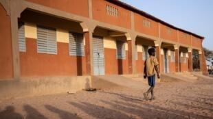 Une école primaire à Dori, ville au nord-est du Burkina Faso, en proie à la menace jihadiste.