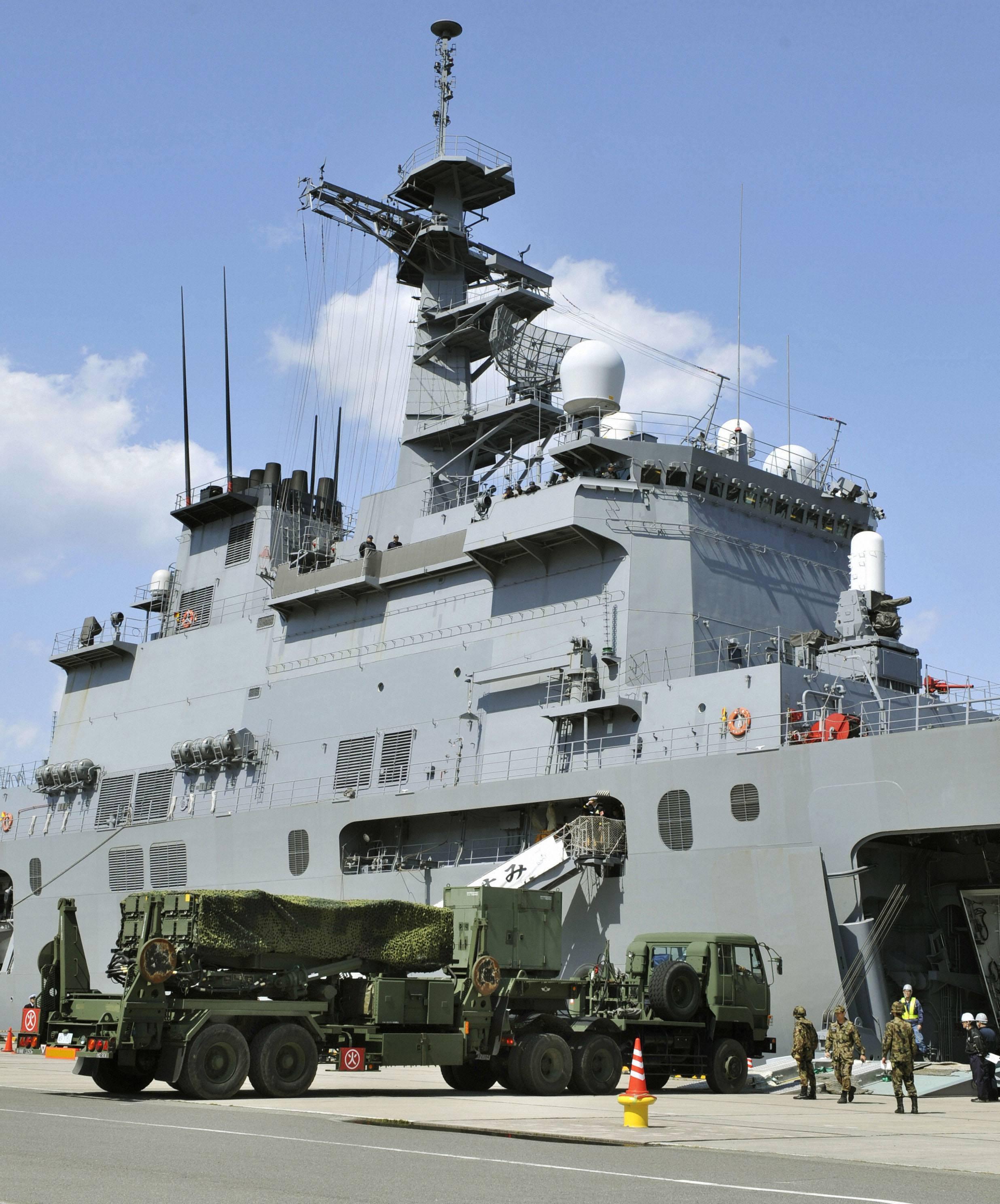 Quân đội Nhật hôm 30/03/2012 đã cho triển khai hệ thống phòng không  Patriot Advanced Capability-3  săn sàng bắn hạ tên lửa Bắc Triều Tiên.