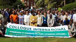 Colloque international sur les zones cotonnières africaines à Bamako, en novembre 2017.