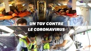 des TGV médicalisés pour transférer les patients du Grand-Est
