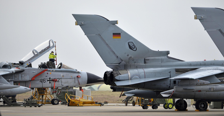 Des avions Tornado allemands sur la base turque d'Incirlik, le 21 janvier 2016.