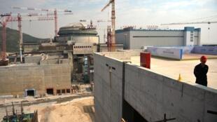 La central de Taishan, en el sur de China, el 8 de diciembre de 2013