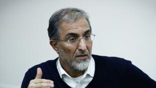 حسین راغفر اقتصاددان در ایران.