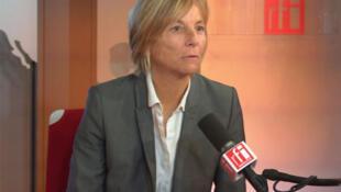Marielle De Sarnez, tête de liste UDI-MoDem en Ile de France et pour les Français de l'étranger aux élections européennes.