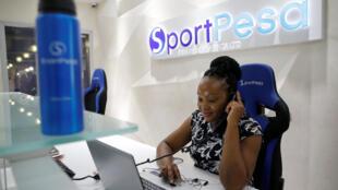 Sportpesa company headquarters in Nairobi, 3 January 2018.
