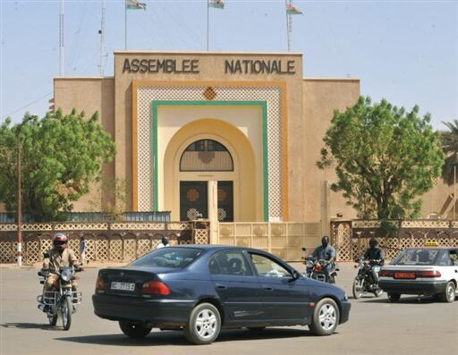 Majalisar dokokin Nijar à Niamey.