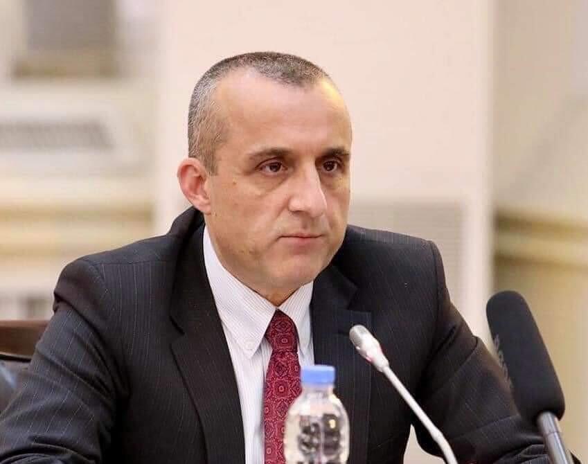 Amrollah Saleh, premier vice-président afghan