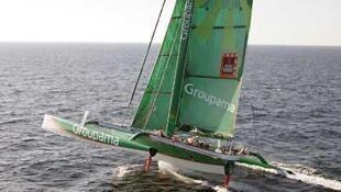 Яхта Groupama-2 на гонке Jacques Vabre 2007 года