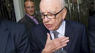 O magnata Rupert Murdoch.