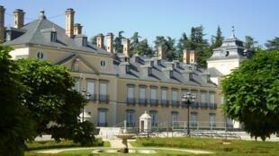 Le palais du Pardo, près de Madrid en Espagne, où se tiendra le mini-sommet européen des sept. .
